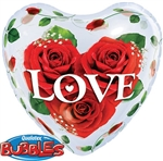 Love Roses Bubble