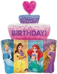 28 inch Disney Multi-Princess Birthday Cake