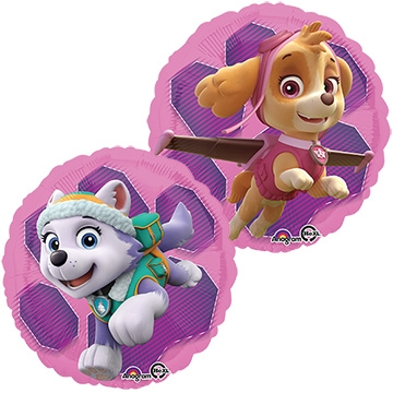 18 inch Paw Patrol Skye and Everest, Price Per EACH, Minimum Order 5