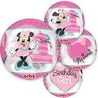 Minnie Mouse 1st Birthday ORBZ