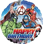 18 inch Marvel Avengers Happy Birthday