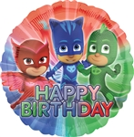 18 inch PJ Masks Birthday