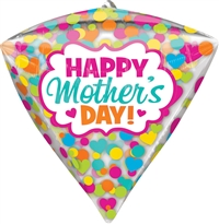 17 inch Happy Mother's Day Dots & Hearts Diamondz