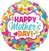 28 inch Happy Mother's Day Dots & Hearts