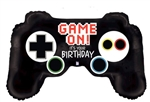 38 inch Game On! It's Your Birthday Game Controller Foil Balloon Foil Balloon