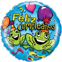 Cumpleanos Party Frogs
