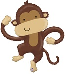 40 inch Monkey Buddy Linky Shapes