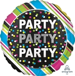 Party Party Party Foil Balloon