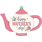Mother's Day Vintage Teapot Foil Balloon