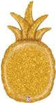 Gold Glitter Pineapple
