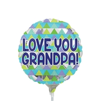 Grandpa Triangle Pattern Balloon