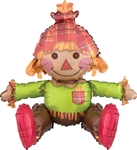20 inch Sitting Scarecrow Foil Balloon