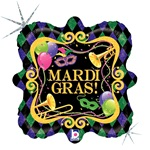 Mardi Gras Party Marquee