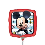 Mickey Roadster Square Foil Balloon