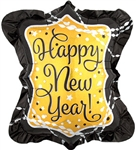 27 inch Happy New Year Streamers & Sparklers