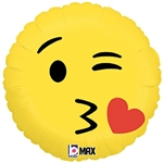 Emoji Kiss Balloon