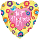 18 inch Mother's Day Spring Heart Shape