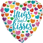 Hugs & Kisses Foil Balloon