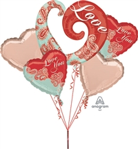 Paisley Love Bouquet