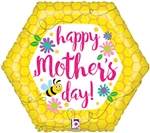 Mother's Day Bee & Flowers Balloon