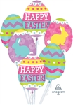 Easter Egg Hunt Bouquet Foil Balloon