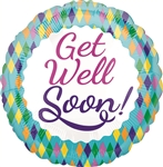 Get Well Colorful Diamonds