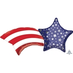 27 inch Patriotic Shooting Star