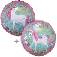 Holographic Unicorn Birthday