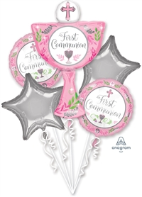 1st Communion Day Bouquet - Girl