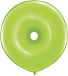 16 inch GEO Donut Qualatex LIME GREEN