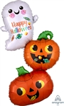 Ghost & Pumpkin Stack Balloon