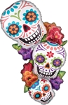 18in Colorful Dia De Muertos
