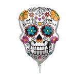 14in Sugar Skull Mini Shape