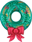 30 inch Satin Wreath Foil Balloon