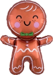 31 inch Happy Gingerbread Man
