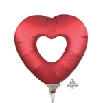 Sangria Open Heart Balloon