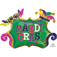 34 inch Mardi Gras Celebration