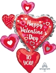 Happy Valentine's Day to You! Foil Balloon