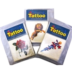 3in Big Tattoos Assorted