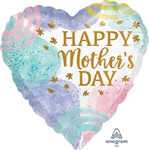 Happy Mother's Day Watercolor Balloon