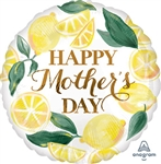 Happy Mother's Day Lemons Balloon