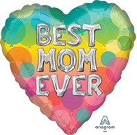 Best Mom Ever Balloon Letters Balloon