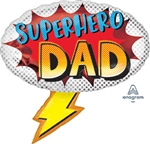 Superhero Dad Foil Balloon