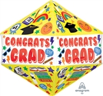 Congrats Grad Fun Icons Balloon