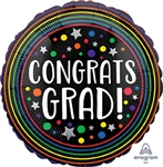 Congrats Grad Colorful Circles