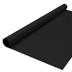 Banquet Roll 40in x 150ft BLACK, Price Per EACH