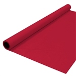 Banquet Roll 40in x 150ft BURGUNDY, Price Per EACH