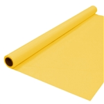HARVEST YELLOW Plastic Banquet Roll