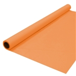 Banquet Roll 40in x 150ft TANGERINE, Price Per EACH