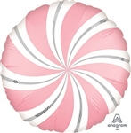PINK Candy Swirl Balloon
